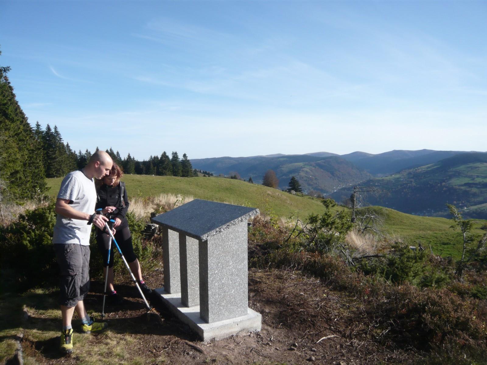 Touristes lors d'un parcours de découverte