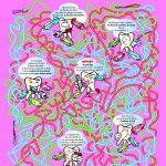 Jeu de questions / réponses basé sur un labyrinthe