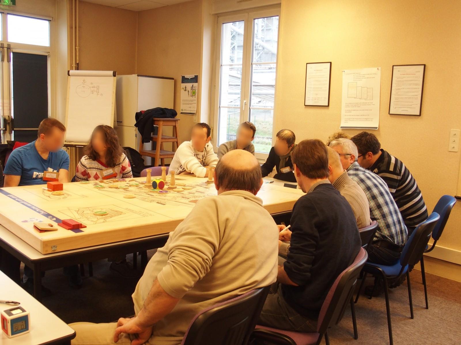 Groupe de participants à la formation prévention novacarb