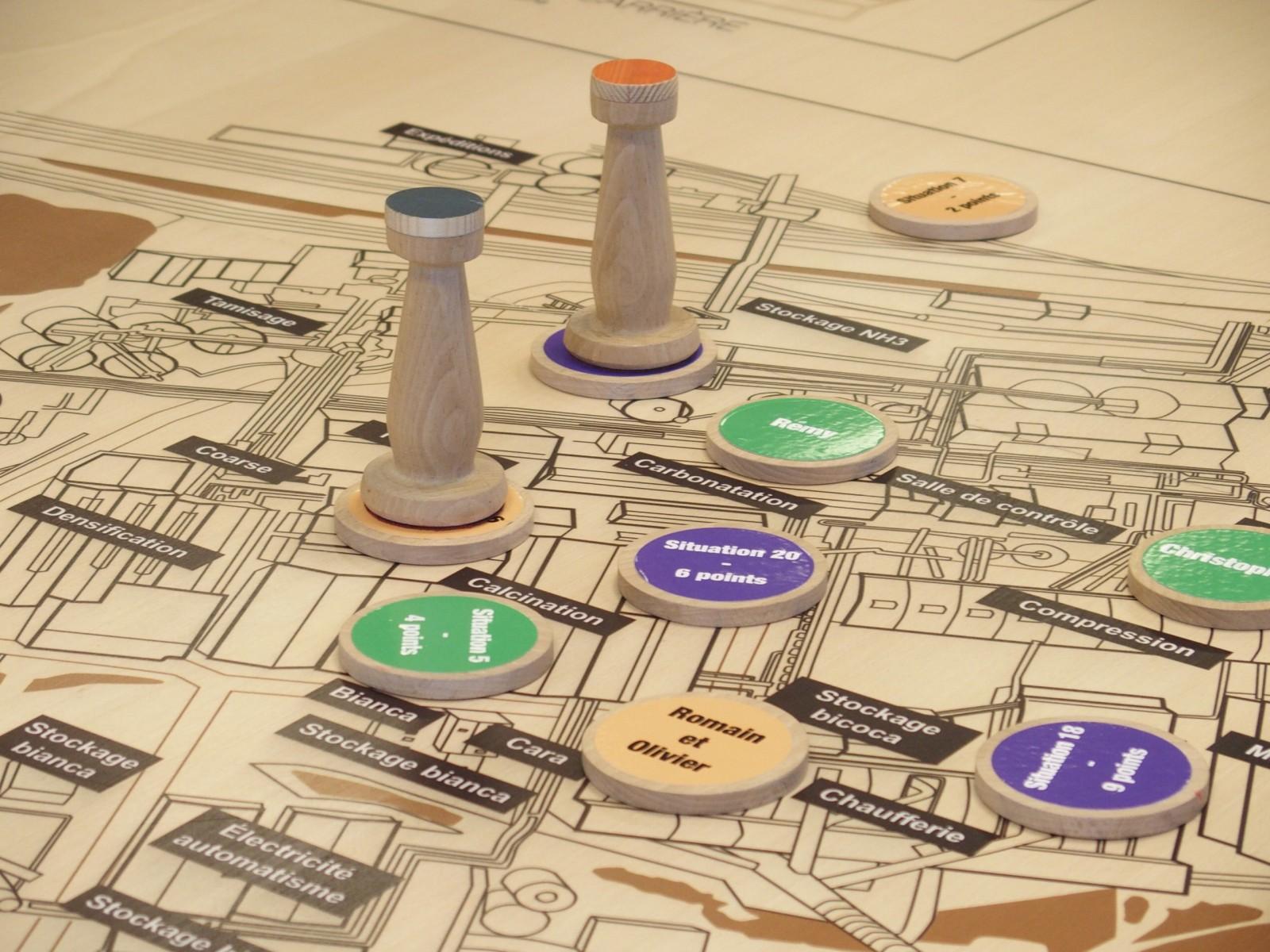 Populaire Réalisation de jeu et outil ludo pédagogique : Sens Ludique AG12
