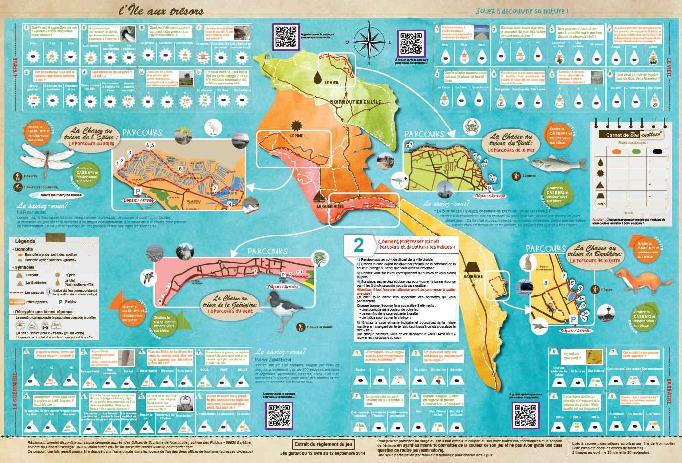 Noirmoutier 2014 carte intérieure