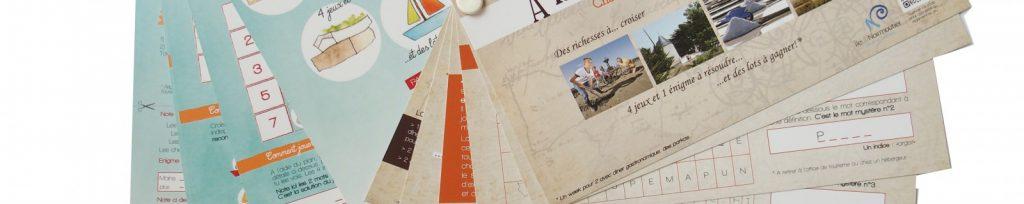 Chasse au trésor sur l'ile de Noirmoutier