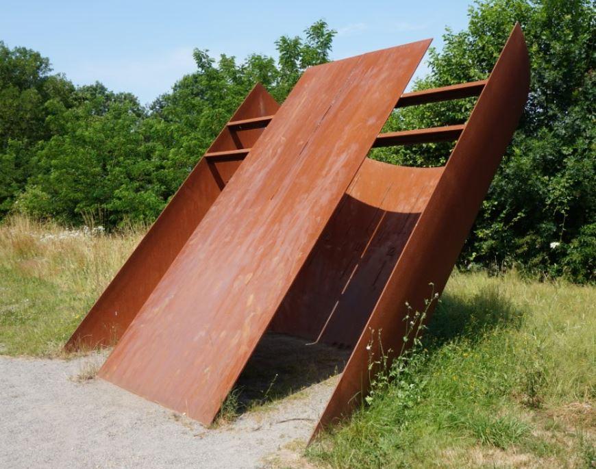 Patrimoine bâti - Cadran solaire géant